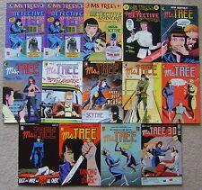 MS. TREE #1-12 + 3-D #1 Eclipse Comics (14) COMIC RUN VF to NM MAX COLLINS