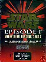 Star Wars Episode 1 Trading Cards Widevision Collectors