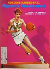 1969 12/1 Sports Illustrated, magazine, College Basketball,Pete Maravich,LSU~FrW