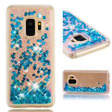 Full Wrap Soft Bling Liquid Glitter Quicksand TPU Case Cover For Phone + Care