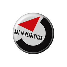 Art in Revolution - Back To The Future - 2.5cm Button Badge