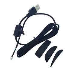 New High quality logitech G9X G9 mouse USB cable/Line/wire & Feet Skate