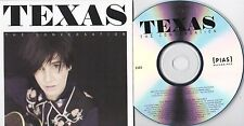 TEXAS THE CONVERSATION  RARE NUMBERED 12 TRACK PROMO CD