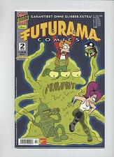 Futurama (Simpsons) # 2-Bill Morrison-Dino editorial 2002-Top