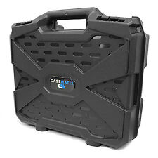 Equipment Gun Hard Case Lockable Safe Storage Carry Foam Box Pistol Handgun