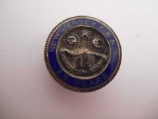VTG Sterling Silver Enamel New Jersey Free and Accepted Masons 25 yr Service Pin