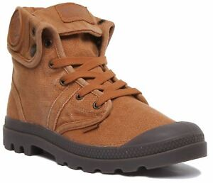 Palladium Pallabrouse Baggy In Rust Ankle Boots Us Baggy Washed Size UK 6 - 12