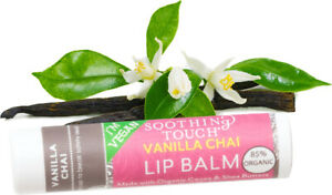Lip Balm by Soothing Touch, 0.25 oz Vanilla Chai