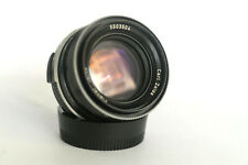 Carl Zeiss Planar West Germany 50 mm F 1.8 Lens in Rollei QBM Mount, Good