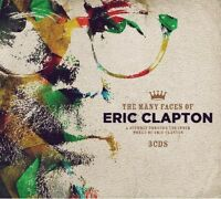MANY FACES OF ERIC CLAPTON  3 CD NEW+