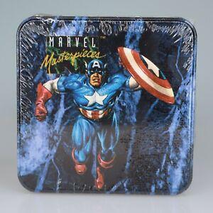 New Sealed 1993 Marvel Masterpieces Series 1 Trading Card Tin Set Fleer/Skybox