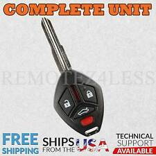 for 2009 10 11 12 Mitsubishi Eclipse Galant Keyless Remote Car Key Fob Wide