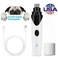 Electric Paws Nail Trimmer Grinder Grooming Tool Care Clipper For Pet Dog Cat US