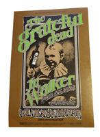 BG 176 GRATEFUL DEAD Jr Walker Bill Graham FILLMORE POSTCARD Handbill mint AD