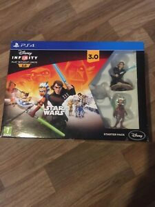 DISNEY INFINITY 3.0 STAR WARS STARTER PACK PS4 PLAYSTATION 4 - NEW SEALED UK