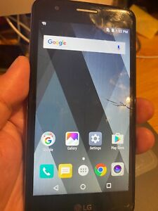 LG K8 4G Quad Core 13MP/5MP Android Phone - Cracked Screen