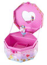 Musical Jewelry Box - Girls Rainbow Unicorn Music Jewel Storage Box