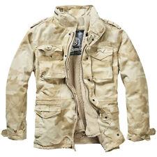 Brandit M-65 Giant Jacket Military Tactical Mens Warm Field Parka Sandstorm Camo XL