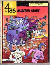 """QUATRE 4 AS """" MISSION MARS """" T 42 EO CASTERMAN 2005 PARFAIT ETAT TRES RARE"""