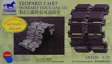 BRONCO AB3528 Workable Track Links for Leopard 2 MBT in 1:35