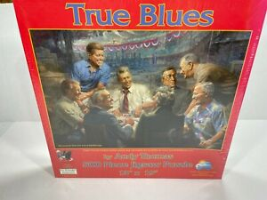 True Blues by Andy Thomas Democrat Presidents 500 Piece Jigsaw Puzzle Sunsout