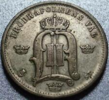 1875 SWEDEN Silver