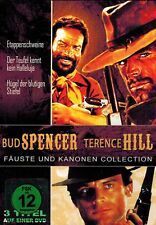 DVD - Bud Spencer Terence Hill - Fäuste und Kanonen Collection - 3 Filme