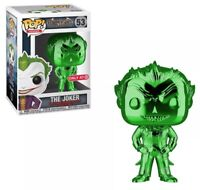 Funko Pop Heroes The Joker Green Chrome Target Exclusive Batman Asylum #53 NYCC