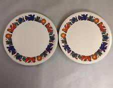 Set of 2 Villeroy & Boch Acapulco (Roma Shape) Salad Plates