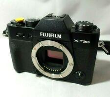 Mirrorless Fujifilm X-T20 24 megapixel video 4K xt20