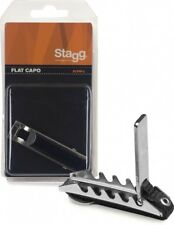 Stagg Metal Curved Capo - Good Value Basic Capo