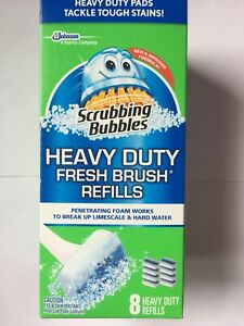 Scrubbing Bubbles Fresh Brush Heavy Duty Refills 8ct