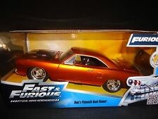 Fast & Furious - Dom's Plymouth Road Runner Diecast Car Jada Toys 1 24