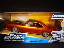 Jada Plymouth CORRECAMINOS DE DOM COCHE FAST AND FURIOUS 97126 1/24