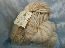 New listing Vintage Dyed in the Wool Hand Painted Merino Wool Yarn/Single Ply Thick and Thin
