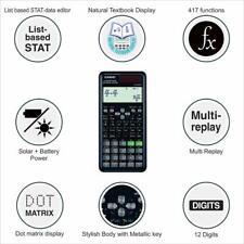 More details for casio fx-991es plus advanced scientific calculator,417 functions, gcse & a level