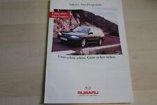 87688) Subaru SVX - Impreza - Legacy - Libero - Justy Prospekt 1994