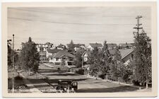 Real Photo Postcard Residential District in Anchorage, Alaska~106893