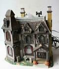 Haunted House Figurine 2002 Lemax Light Up The Alford Mansion Porcelain MISFIT