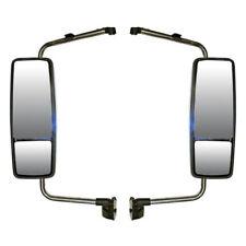 Door Mirror Power Heated Chrome Turn Signal LH & RH (Fit: International ProStar)