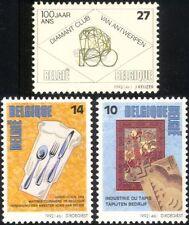 Bélgica 1992 Tapiz/Cocina/Gastronomía/Diamantes/Gemas/minerales 3v Set (n45032)