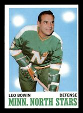 LEO BOIVIN 70-71 TOPPS 1970-71 NO 42 NRMINT+  20560