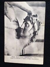 A033 - 1928 Firenze Cappelle Medicee formato piccolo viaggiata con francobollo