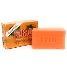 Carrot Soap 125 g   Original Herbal Skin Complexion Bar