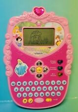 VTECH Disney Princess Magical Learn and Go Hand Held Electronic Game Works Great