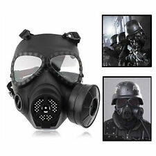 Airsoft Paintball Full Face Protection MA-04 Mannequin Masque Gaz Turbo Ventilateur système NEUF