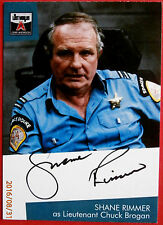 The Lost Worlds of Gerry Anderson - SHANE RIMMER (Lt Grogan) Autograph Card