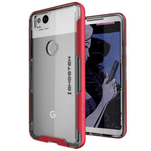 For Google Pixel 2 Case | Ghostek CLOAK Ultra Slim Clear Shockproof Bumper Cover