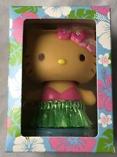 *NIB* SANRIO Hello Kitty Hawaii Bobble Head Mascot - Hula Girl