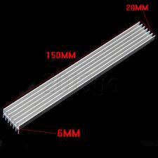 Long de 150x20x6mm dissipateur de chaleur en aluminium dissipateur de chaleur pour led amplificateur de puissance pcb cg